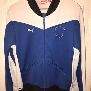 Old School Men's Puma Bomber Sweater Size M